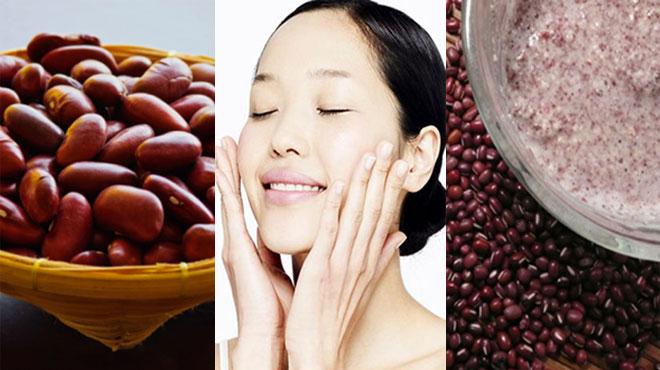 Mặt nạ chữa trị tàn nhang hiệu quả với bột đậu đỏ