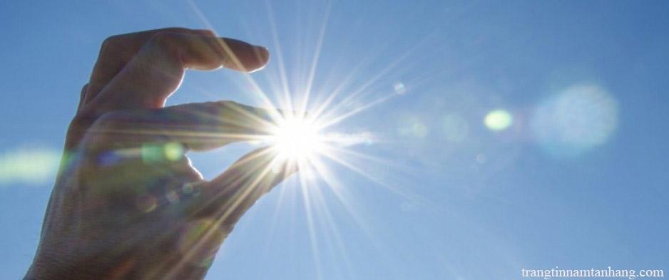 Nguyên nhân gây nám da do tiếp xúc với ánh nắng mặt trời