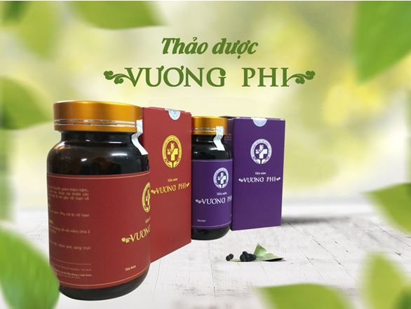 Thảo dược Vương Phi - Liệu pháp điều trị nám da hoàn hảo 2018