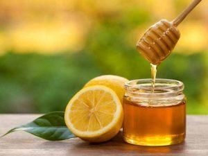 mật ong và chanh tươi trị nám da