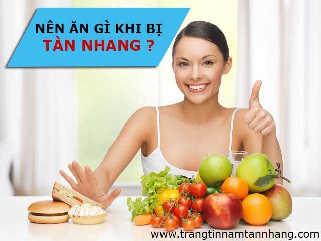 Bị tàn nhang nên ăn gì?