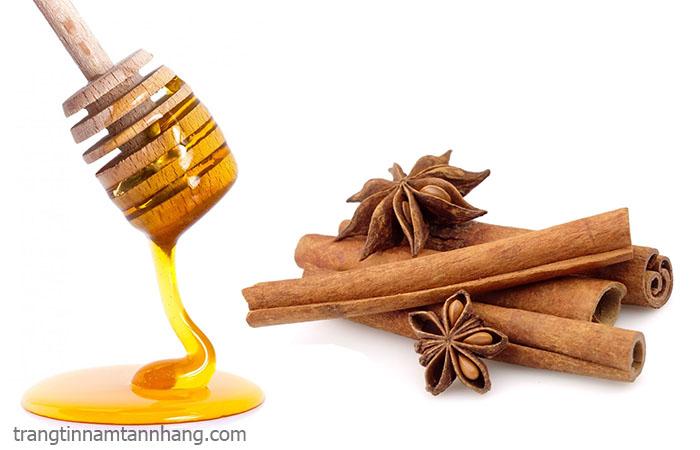 Cách trị nám tàn nhang bằng mật ong và bột quế