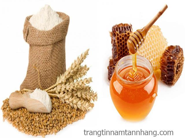 Cách trị tàn nhang bằng mật ong và mầm lúa mì