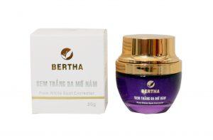 Kem trị sạm da Bertha