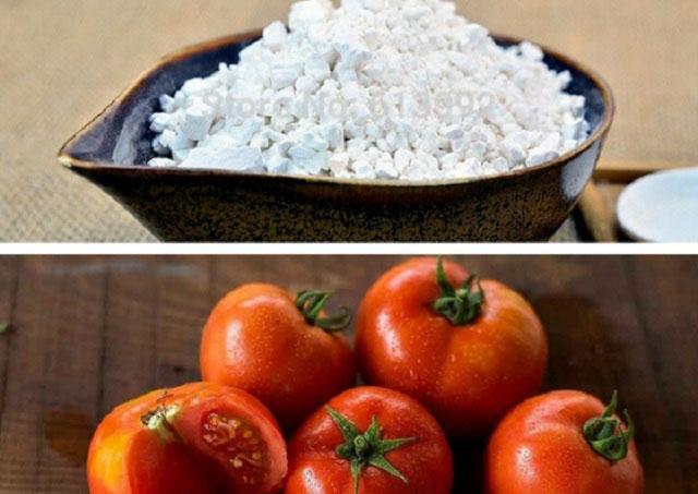 Trị nám da bằng bột sắn dây và cà chua
