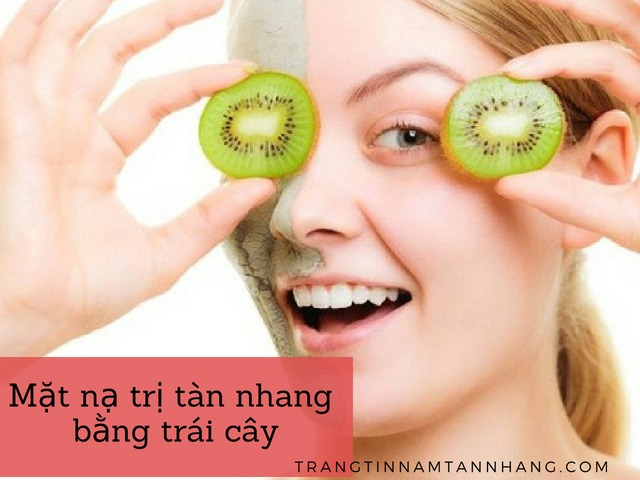 Mặt nạ trái cây cho da tàn nhang