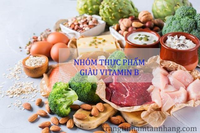 Bị nám da nên ăn thực phẩm giàu vitamin B