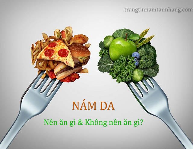 Nám da nên ăn gì?
