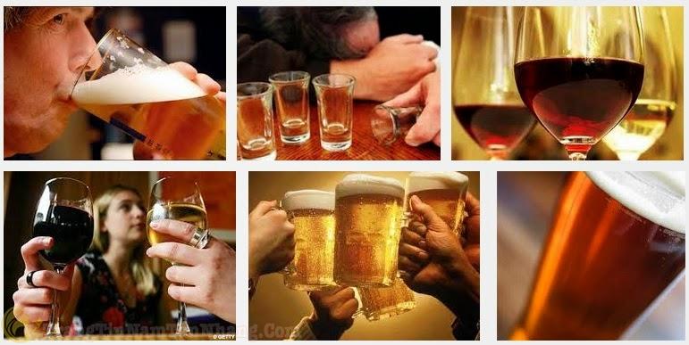 Rượu bia gây nám da ở nam giới