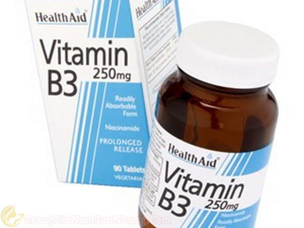 Thuốc vitamin B3 trị tàn nhang