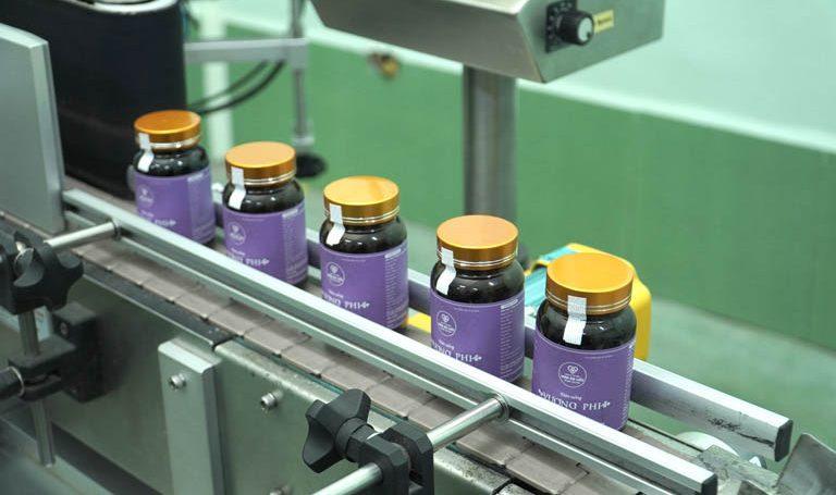 Vương Phi được sản xuất trên dây chuyền hiện đại, đạt chuẩn