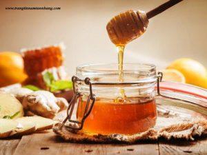 cách trị tàn nhang bằng mật ong