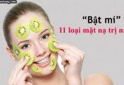 Mặt nạ trị nám da từ nguyên liệu tự nhiên