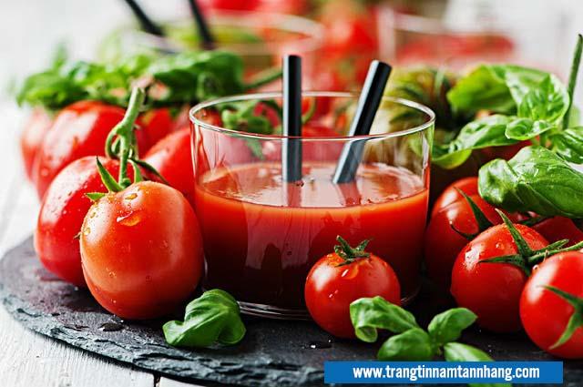 Cách trị nám da an toàn chỉ với cà chua