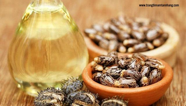 Trị nám da an toàn bằng thầu dầu và vitamin E