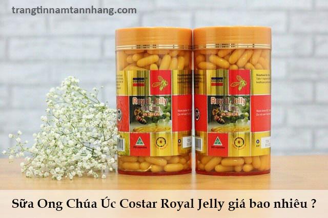 Sữa Ong Chúa Úc Costar Royal Jelly giá bao nhiêu ?