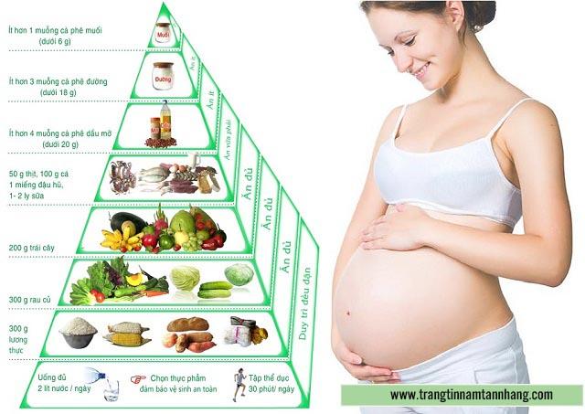 Cân bằng chế độ dinh dưỡng cho phụ nữ mang thai bị nám da