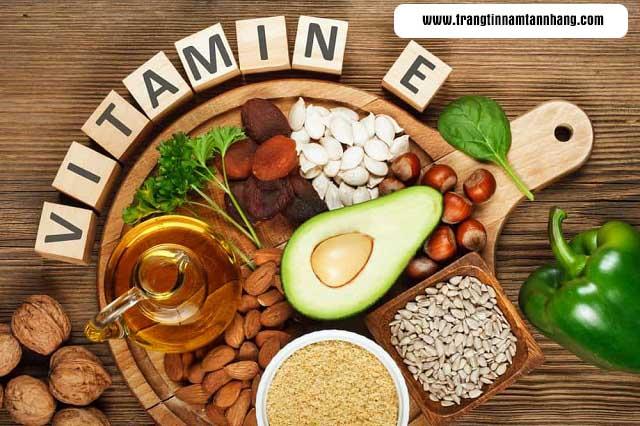cách trị tàn nhang bằng vitamin E