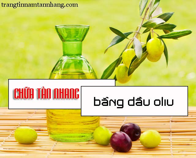 Cách trị tàn nhang bằng dầu oliu