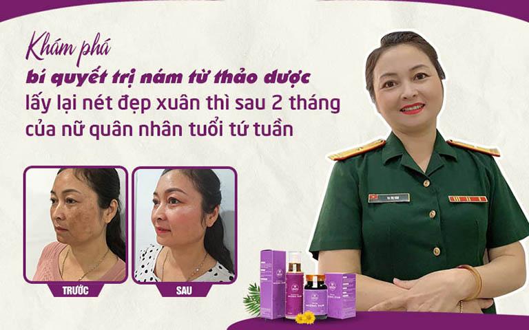 Cô Hồng Vân cải thiện diện mạo tươi trẻ sau khi sử dụng Vương Phi