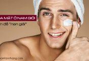 Sạm da mặt ở nam giới và cách điều trị