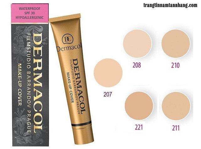 Kem nền che khuyết điểm tàn nhang Dermacol Make-up Cover