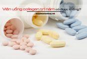Viên uống collagen trị nám