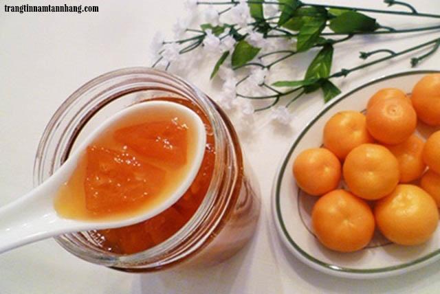Cách trị nám da bằng quả quất và mật ong