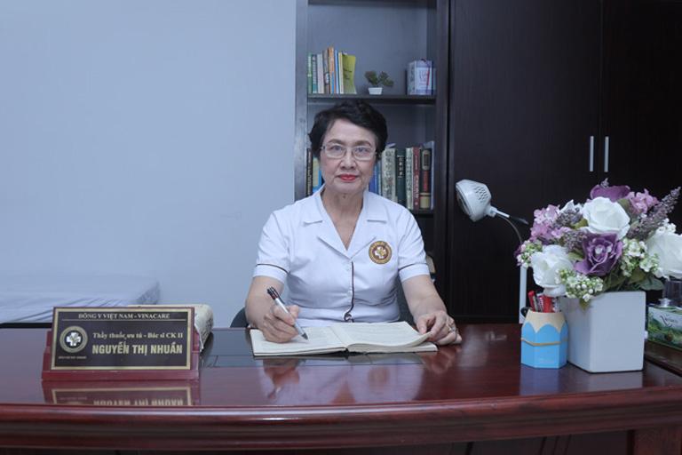 Thầy thuốc ưu tú, Bác sĩ CK II Nguyễn Thị Nhuần