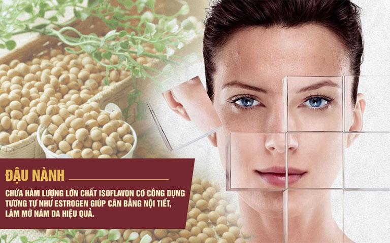 Mầm đậu nành giúp cân bằng nội tiết và cải thiện vẻ đẹp của làn da