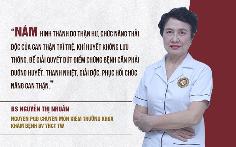 BSP Vương Phi bám sát theo nguyên lý loại bỏ nám da của y học cổ truyền