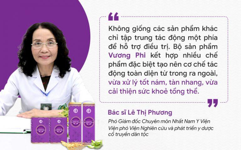 Bác sĩ Lê Phương đánh giá về BSP Vương Phi