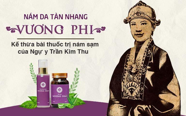 Vương Phi giúp loại bỏ nám da từ gốc, ngăn ngừa tình trạng quay trở lại