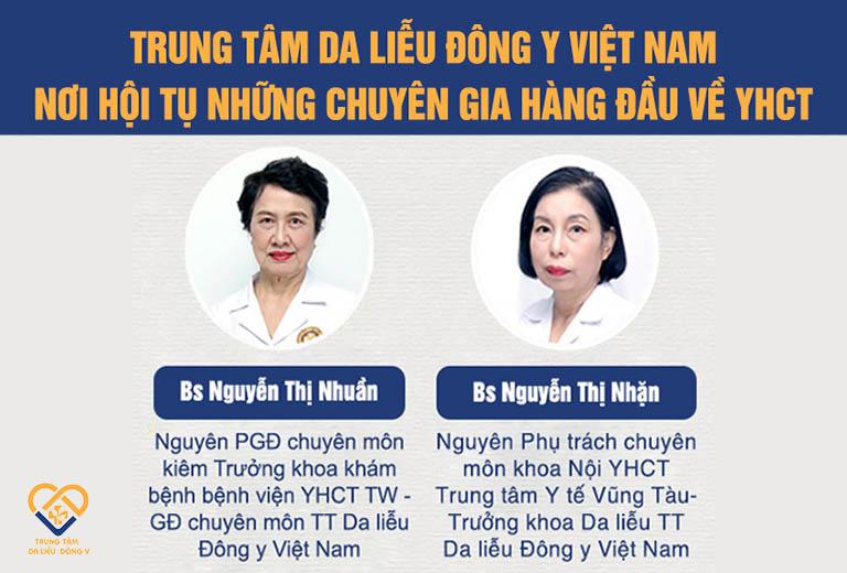 """Bác sĩ Nguyễn Thị Nhuần và bác sĩ Nguyễn Thị Nhặn là hai chuyên gia """"cốt cán"""" tham gia vào quá trình bào chế Vương Phi"""