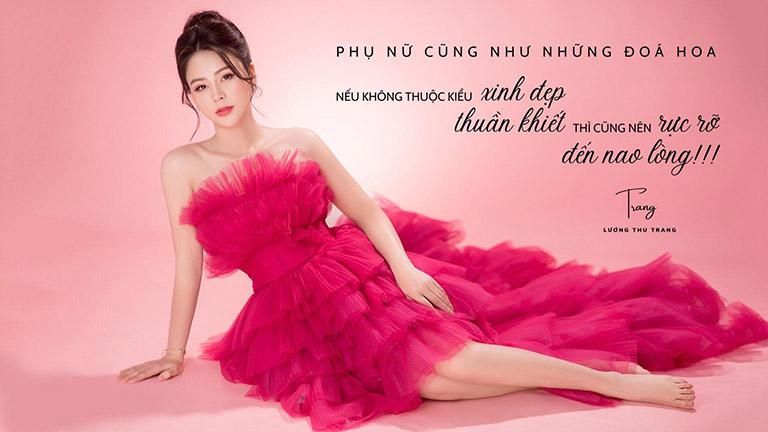 """Diễn viên Lương Thu Trang nổi tiếng qua nhiều vai diễn trong các bộ phim truyền hình """"bom tấn"""""""