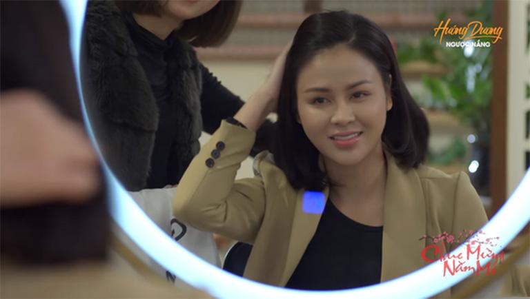 Lương Thu Trang thủ vai Minh HH trong bộ phim truyền hình Hướng Dương Ngược Nắng