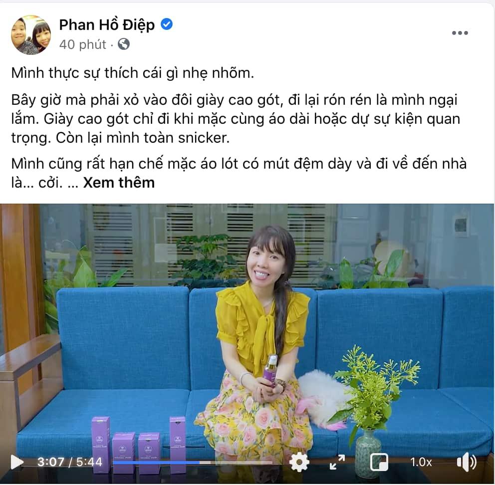 """Mẹ """"thần đồng"""" Đỗ Nhật Nam giới thiệu bộ sản phẩm Vương Phi"""