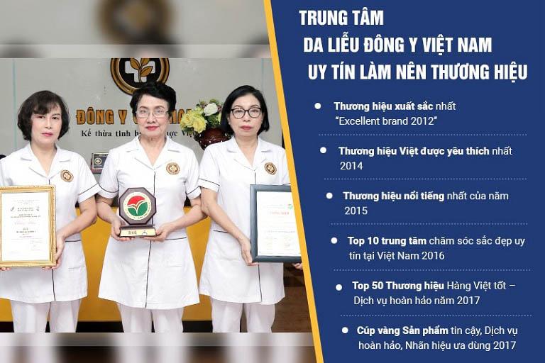 Trung tâm Da liễu Đông y Việt Nam là đơn vị đi đầu trong Y học cổ truyền ở mảng da liễu thẩm mỹ
