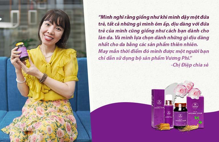 Đánh giá chân thực của chị Phan Hồ Điệp - Mẹ thần đồng Đỗ Nhật Nam về bộ sản phẩm Vương Phi