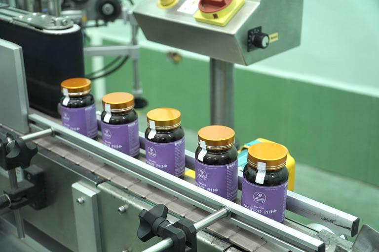 Vương Phi được sản xuất trên dây chuyền hiện đại